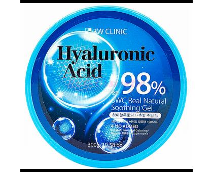 3W CLINIC Гель универсальный ГИАЛУРОНОВАЯ КИСЛОТА Hyaluronic Acid Natural