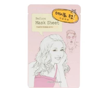 Тканевая маска для лица Holika Holika Before Mask Sheet — Before Dating — «Перед свиданием»