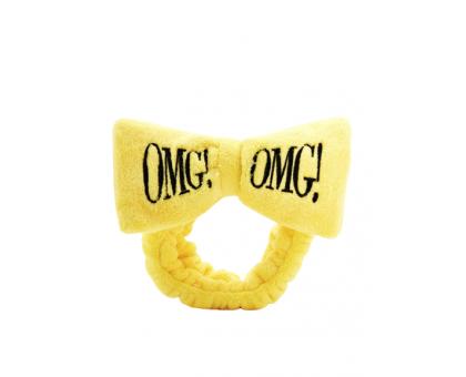ПОВЯЗКА КОСМЕТИЧЕСКАЯ ДЛЯ ВОЛОС ЖЕЛТАЯ DOUBLE DARE OMG! hair band - yellow