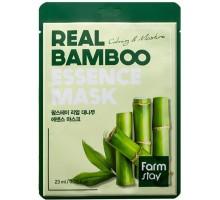 FarmStay Маска тканевая для лица с экстрактом бамбука - Real bamboo essence mask, 23мл