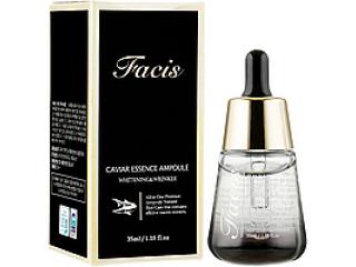 Facis Сыворотка для лица с экстрактом икры Caviar Essence Ampoule, 35 мл