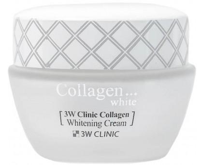 Крем для лица 3W Clinic Collagen Whitening Cream 60 мл