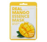 Маска для лица тканевая с экстрактом манго Real Mango Essence Mask FarmStay 23мл