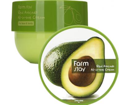 Универсальный крем для лица и тела с авокадо FarmStay Real Avocado All-In-One Cream 300 мл