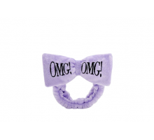 ПОВЯЗКА КОСМЕТИЧЕСКАЯ ДЛЯ ВОЛОС ЧЕРНАЯ DOUBLE DARE OMG! hair band - purple
