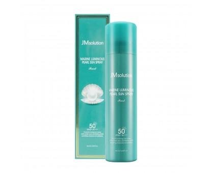 Солнцезащитный спрей с жемчугом JMsolution Marine Luminous Pearl Sun Protection Sun Spray SPF50+ PA+++