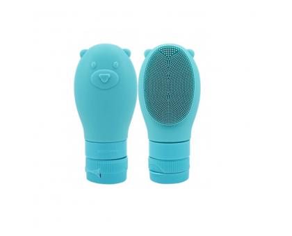 Освежающая пенка с силиконовой щеткой WellDerma Gomdochi Foam Cleanser Cooling 60мл