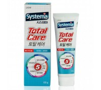 "Зубная паста комплексный уход LION ""Systema total care"" со вкусом мяты, 120 г."