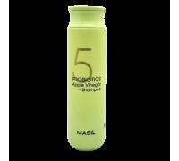 Шампунь с яблочным уксусом для блеска MASIL 5 Probiotics Apple Vinegar Shampoo 300ml