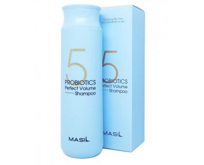 Шампунь для объема волос с пробиотиками Masil 5 Probiotics Perpect Volume Shampoo