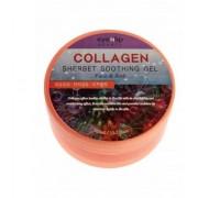 Успокаивающий гель-щербет с коллагеном для лица и тела EYENLIP Collagen Sherbet Soothing Gel Face & Body