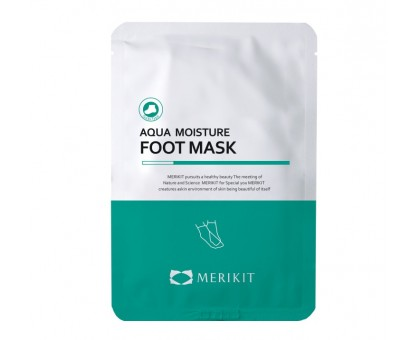 Merikit Увлажняющая маска для ног - Aqua Moisture Foot Mask