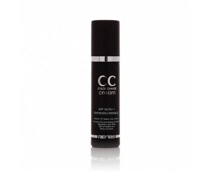 Ronas CC Color Change Cream SPF38 PA+++ - СС крем подстраивающийся под цвет кожи