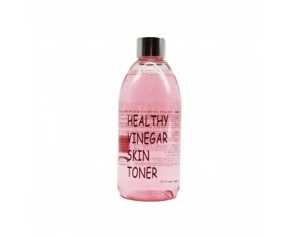 Уксусный тонер на основе ферментированного экстракта красного вина REALSKIN Healthy Vinegar Skin Toner Grape Wine