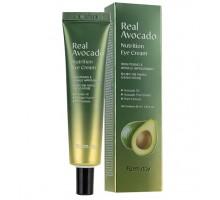 Крем для кожи вокруг глаз с авокадо Farm Stay Real Avocado Nutrition Eye Cream, 40 мл