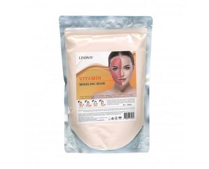 Альгинатная маска витаминная + мерная ложка-шпатель Lindsay Premium Vitamin Modeling Mask Pack 240 гр