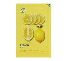 Маска тканевая тонизирующая Пьюр Эссенс, лимон / Pure Essence Mask Sheet Lemon 20 мл