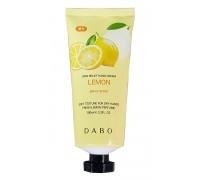 Отбеливающий крем для рук с соком лимона Dabo Skin Relief Hand Cream Lemon 100 мл