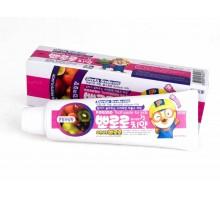 Детская зубная паста Тропические фрукты Pororo Children's Toothpaste 90 мл