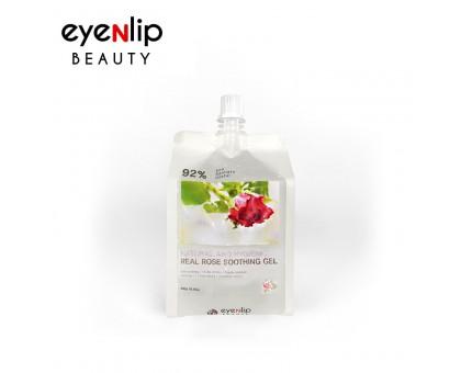 Гель для лица и тела Eyenlip Natural And Hygienic Real Soothing Gel ROSE - РОЗА 300 мл