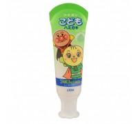 Зубная паста для детей слабообразивная Melon - дыня LION Kid's Toothpaste 40 мл
