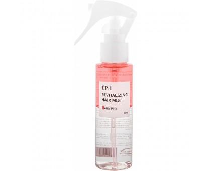 Двухфазный парфюмированный мист для волос Розовый Esthetic House Cp-1 Revitalizing Hair Mist Petite Pink 80 мл