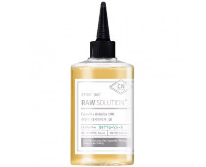 Сыворотка с центеллой азиатской для проблемной кожи и оздоровления волос CERACLINIC Raw Solution Centella Asiatica 100, 60 мл