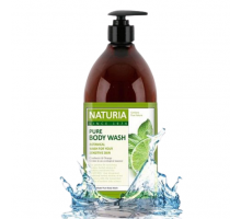 Гель для душа МЯТА и ЛАЙМ EVAS NATURIA PURE BODY WASH Wild Mint & Lime 750мл