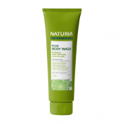 Гель для душа МЯТА и ЛАЙМ EVAS NATURIA PURE BODY WASH Wild Mint & Lime,100мл