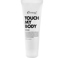 Скраб для тела КОЗЬЕ МОЛОКО ESTHETIC HOUSE Touch My Body Goat Milk Body Scrub, 250 мл