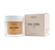 Лёгкий тонизирующий крем с лепестками розы NACIFIC Real Floral Air Cream Rose 100 мл