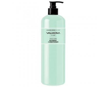 Восстанавливающий увлажняющий кондиционер для волос 480 мл EVAS Valmona Recharge Solution Blue Clinic Nutrient Conditioner 480ml