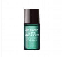 Кислотный очищающий тоник для проблемной кожи Some By Mi AHA-BHA-PHA 30 Days Miracle Toner Miniature 6 мл