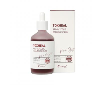 Пилинг-сыворотка гликолевая ESTHETIC HOUSE Toxheal Red Glycolic Peeling Serum, 100 мл