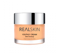 Крем с экстрактом красного женьшеня REALSKIN Youth21 Cream Red Ginseng 50 мл
