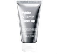 Отбеливающий крем для лица и тела REALSKIN White Vitamin Tone-Up Cream 100 мл