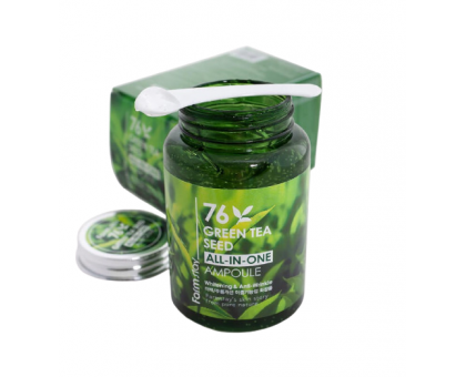 Сыворотка для лица FarmStay 76 Green Tea Seed All-In-One Ampoule, 250 мл