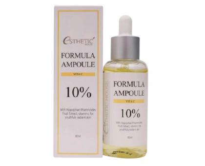 Сыворотка для яркости тона с витамином С Esthetic House Formula Ampoule Vita C, 80 мл
