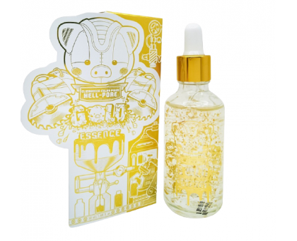 Увлажняющая эссенция с золотом Elizavecca Milky Piggy Hell-Pore Gold Essence, 50 ml