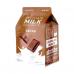 Тканевая маска с шоколадом A'Pieu Chocolate Milk One-Pack, 21 гр.