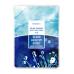Тканевая маска с морским коллагеном Deoproce Color Synergy Effect Sheet Mask Blue, 20 gr