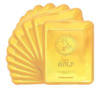 Тканевая маска с золотом и муцином улитки Elizavecca 24K Gold Water Dual Snail Mask, 30 gr