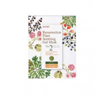 Тканевая маска для лица с растительными экстрактами Petitfee Resurrection Plant Soothing Gel Mask, 30 gr