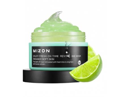 Увлажняющая маска с экстрактом лайма Mizon Enjoy Fresh On-Time Revital Lime Mask, 100 gr
