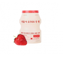ТКАНЕВАЯ МАСКА - A'PIEU REAL BIG YOGURT ONE-BOTTLE STRAWBERRY, 21 гр.