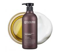 Восстанавливающая маска-бальзам для волос с кератином Floland Premium Silk Keratin Treatment 530 мл