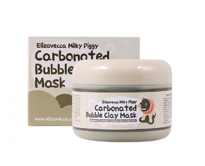 Глиняно - пузырьковая маска Elizavecca milky piggy carbonated bubble clay mask 100 мл