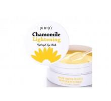 Патчи против темных кругов с экстрактом ромашки - Petitfee Chamomile Lightening Hydrogel Eye Mask, 60 шт./30 пар.