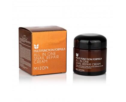 Крем с экстрактом улитки 92 Mizon All In One Snail Repair Cream, 70 мл.