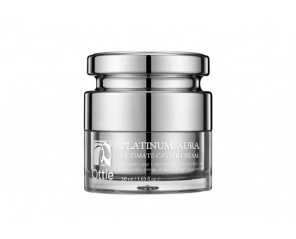 Капсульный премиум-крем  Platinum Aura Ultimate Caviar Cream 50 мл